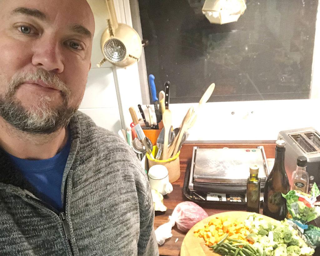 seamus cooking